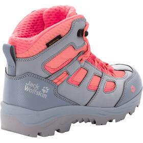 Jack Wolfskin Vojo Texapore Mid Shoes Kids grey pink